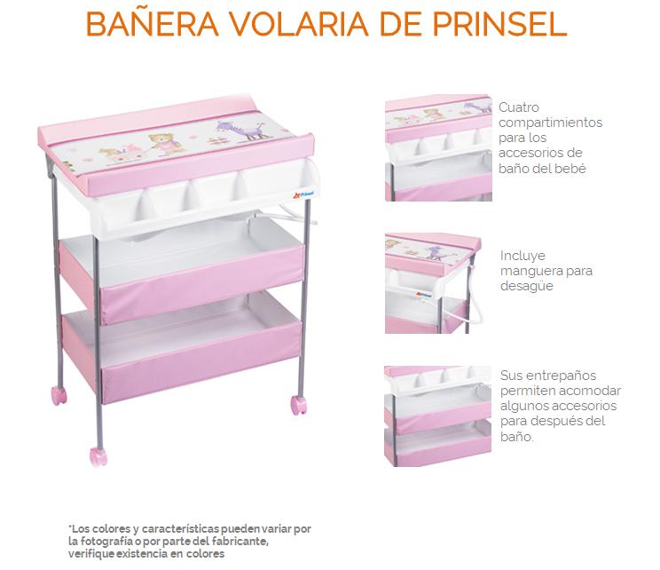 Ba era para bebe bonita prinsel volaria rosa 1 for Banera bebe para banera