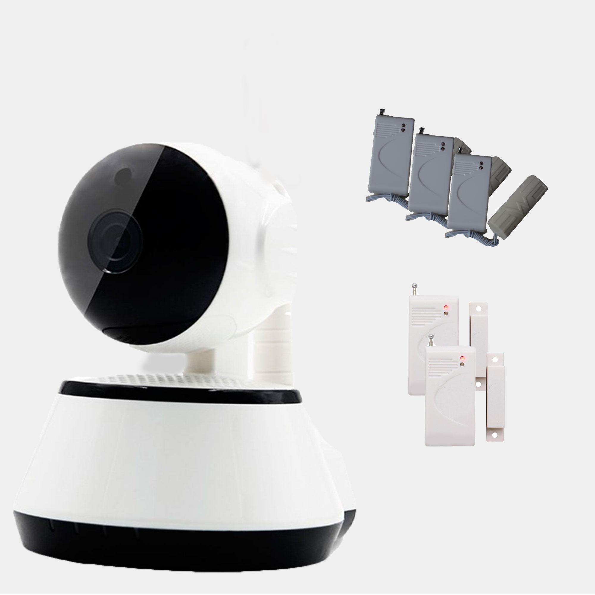 Camara ip wifi vigilancia 2 sensor puerta 3 sensor - Camaras de vigilancia ip wifi ...