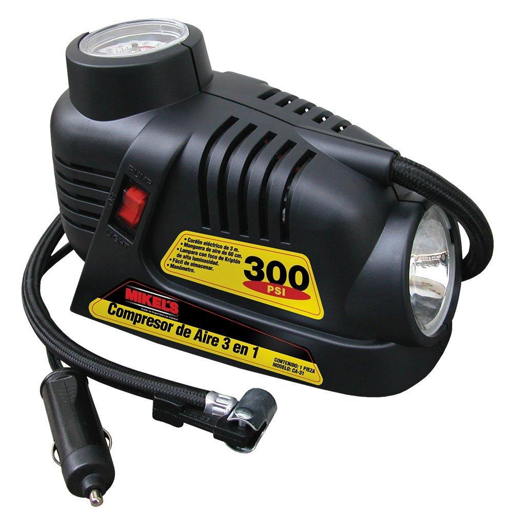 Compresor de aire 3 en 1 12 volts 2 mangueras mikels 699 - Manguera para compresor de aire ...